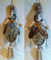 Art Deco Tassel Doll - Trina by mihijime