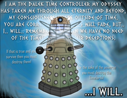 The Dalek Time Controller by Jace-san