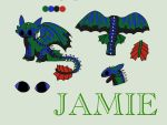 Jamiefury reference 2014 by Jamie-the-Luxray-95