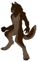 Werewolf For Recolor by Tesseri-Shira
