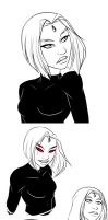 Some Raven doodles by MegS-ILS