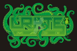 Crate logo tentacles t-shirt design by godzillasmash