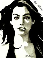 Anne Hathaway by philhorn