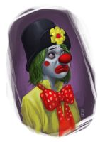 Sad Clown by AdmiraWijaya