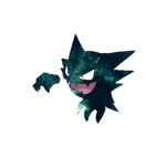The dream eating Haunter by DragneelGfx