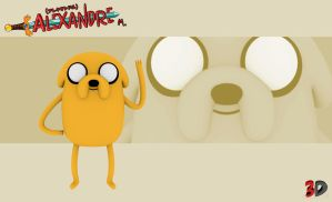 jake the dog 3D by Momotakama