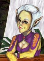 My DSII Elf Character by kageshoujo
