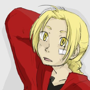 Edward Elric 8D by Youriko-Chan