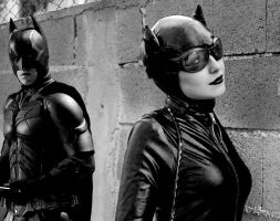 Batman and Catwoman: We meet again... by xMysticDreamer