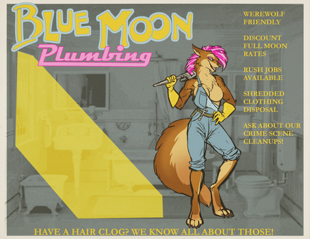 Blue Moon: Plumbing for Werewolves by nothere3