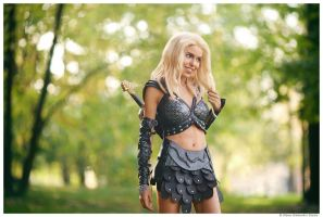 Xena - Crazy bitch Callisto by TophWei