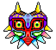 majoras mask by lordagonwastes