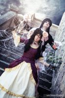 On my spiderweb - xxxHolic by IrethMinllatur