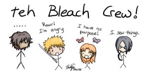 i draw sexy bleach characters. by Bootleg