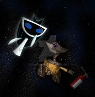 Art Jam: Space Walk by JaviDLuffy