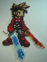 Lloyd Irving Bead Sprite by KitzyBitzyy
