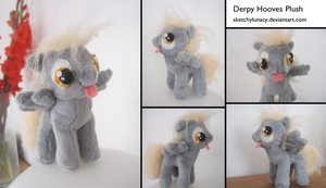 Derpy Hooves Plush by lulu-fly