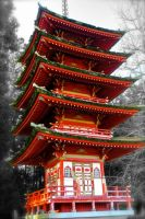 Old Japanese Structure by rafaelmcsilveira