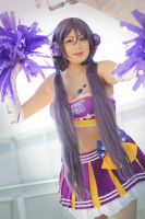 cheerleader time! Love live. Nozomi by Giuzzys