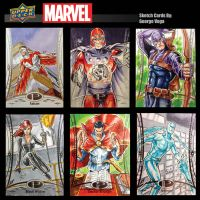 Marvel Premiere cards 3 by shaotemp