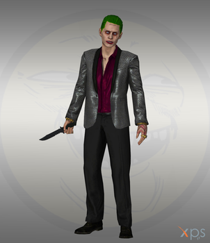 Injustice IOS - Joker suicide squad by Bringess