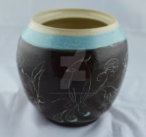Big Etched pot side 3 by FoxCunningTrickster