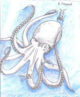 Giant Octopus by MemoryInTime