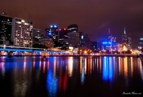 Melbourne City Scape by DanielleMiner