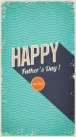 Father's Day wallpaper for iphone5g by PimpYourScreen