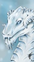 Ice dragon by Ren-ail