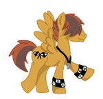 Speedfreak MLP Equestria Games Mascot by Tazimo