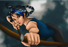 Huntress of Artemis by juliajm15