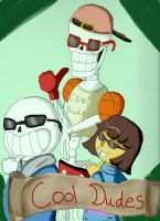 Cool Dudes by QweXTheXEccentric