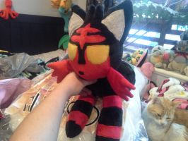 Litten plush wip! by scilk