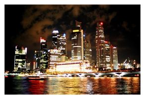 City by the Sea..5sec exposure by gbones