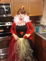 My complete Red Queen costume 2012 by jelc85