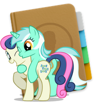 Contacts Bon Bon + Lyra Yosemite Ponified Icon by Falcotte