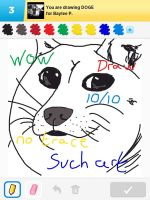 Draw Something - Doge by Kirby-Force