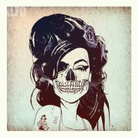 Amy Winehouse by imbierius