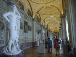 Hermitage Statues by Party9999999
