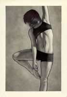 Athlete III by m-scott-hay