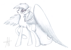 -Sketch- Derpy Hooves by Ardas91