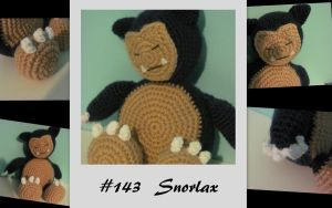 Snorlax Amigurumi by dawnschafer