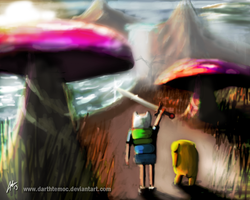 Speedpaint: Adventure Time by DarthTemoc