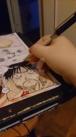 Me colouring the doujinshi page1 by Reika2