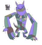 MLP- Earthbound Diamond Dog by Dinalfos5