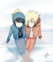 Hoody x Chullo by Timeless-Knight