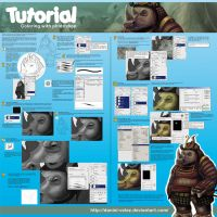 TUTORIAL COLOR EN PHOTOSHOP by Daniel-Velez