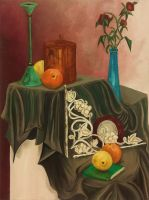 Still Life 1 - Painting Class by HanBO-Hobbit