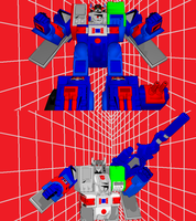 MMD NC 2-Pack - Fortress and Brave Maximus by Zeltrax987
